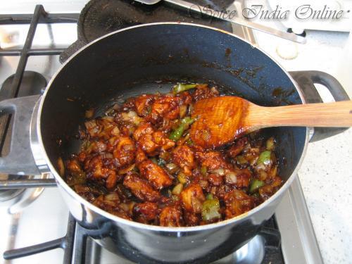 Andhra chilli chicken gravy recipe