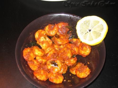 simple shrimp fry