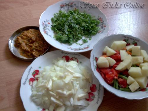 vegetables and masala