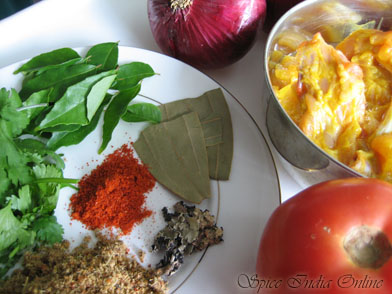 Chettinad Ingredients