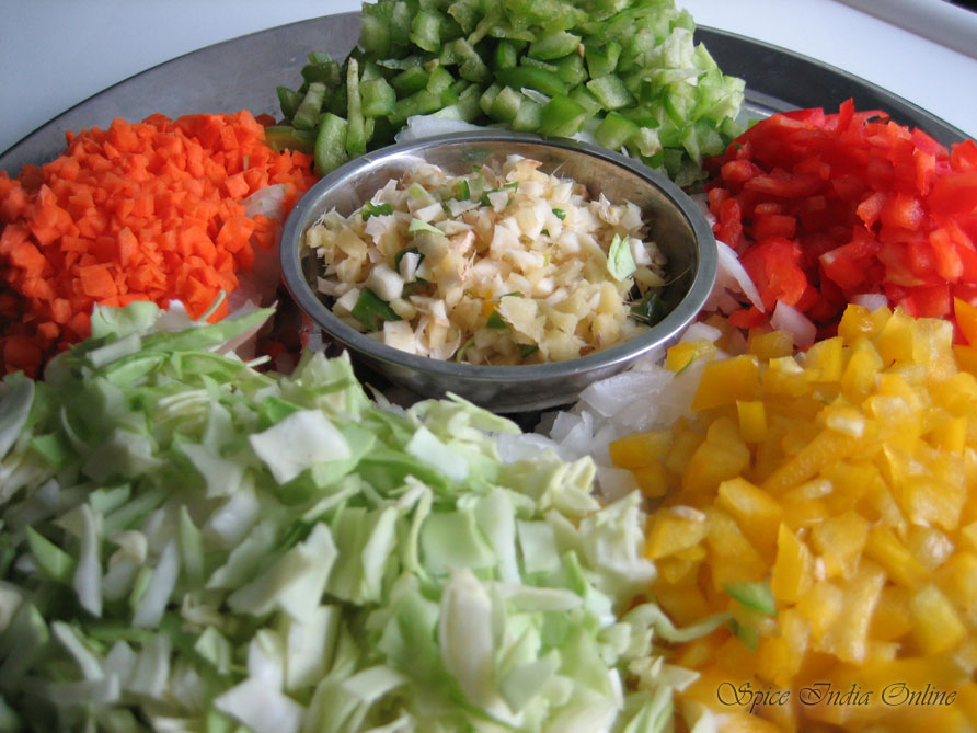 Kitchen foods chicken fried rice fried rice ingredients ccuart Images