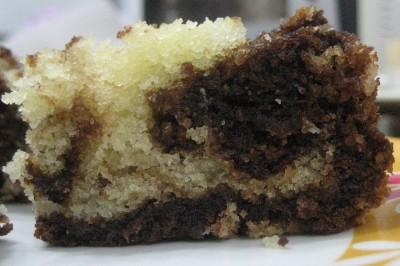 Chocolate Syrup Swirl Cake