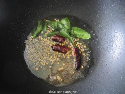 Snake Gourd Poriyal