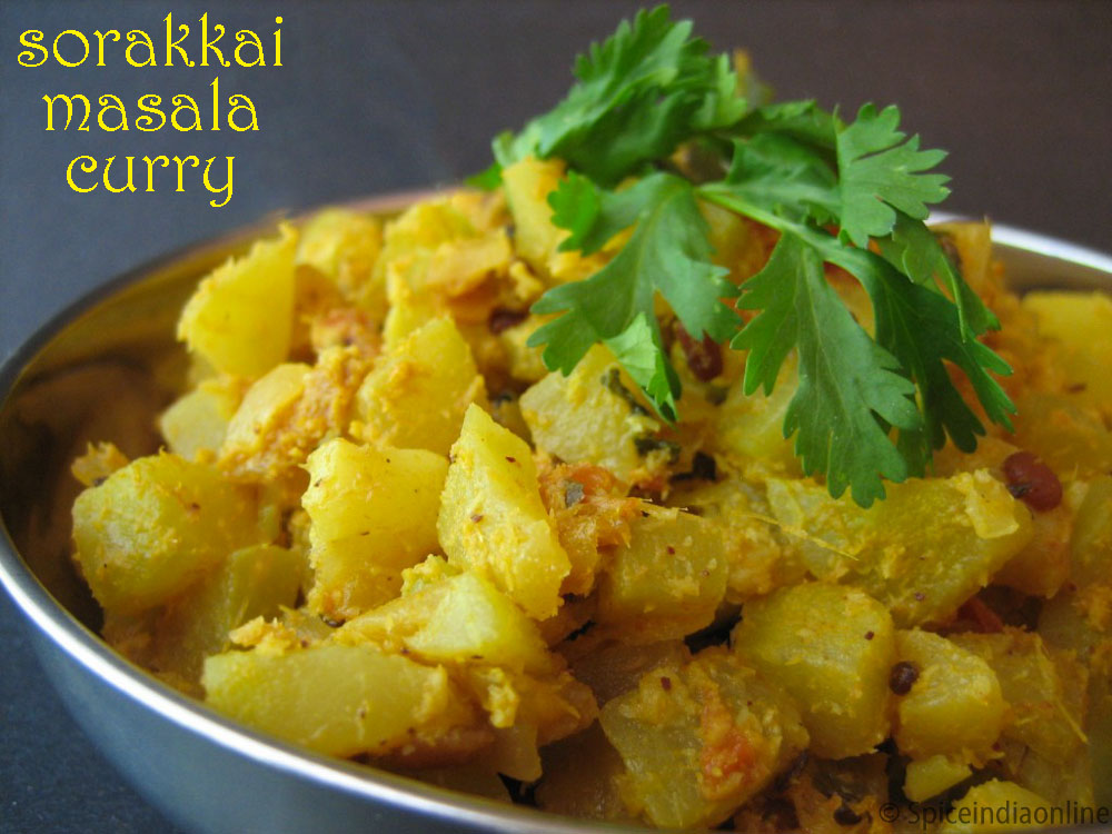 Sorakkai Masala Curry