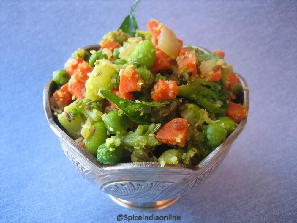 Mixed Vegetable Palya