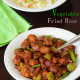 Lunch Dinner Menu 12  Indo Chinese Style Fried Rice & Manchurian