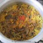 Mushroom Biryani 11