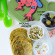 Kids Lunch Box 12 Avocado Chapati with Sprouts and Raita