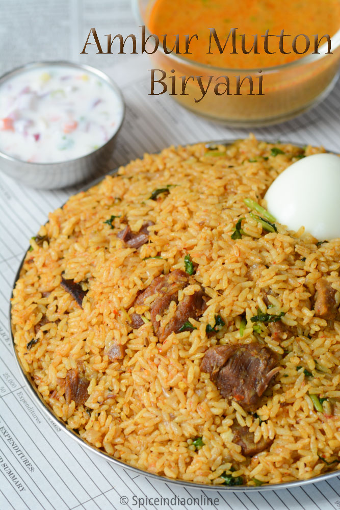 Ambur Arcot Mutton Biryani