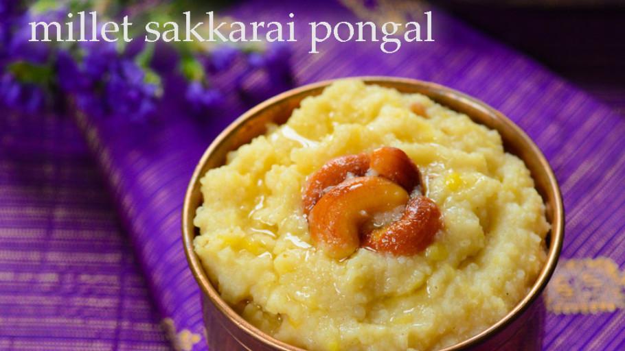 Millet Sakkarai Pongal