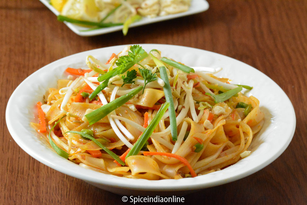 Vegetarian Pad Thai 14