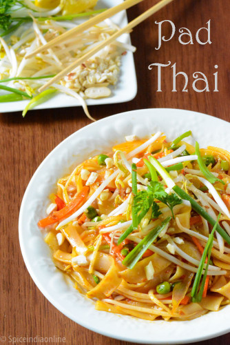 Vegetable And Tofu Pad Thai Recipe — Dishmaps