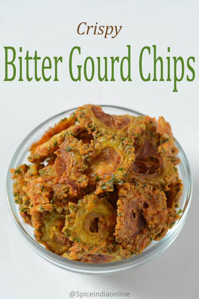 Crispy Bitter Gourd Chips