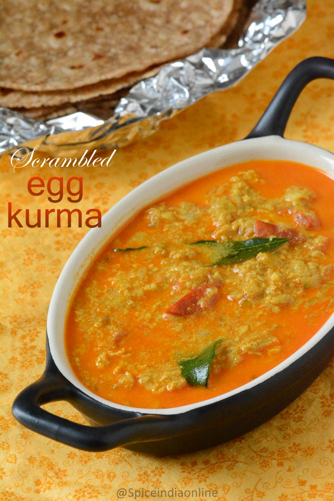 SCRAMBLED EGG KURMA RECIPE – Scrambled Egg Curry ...