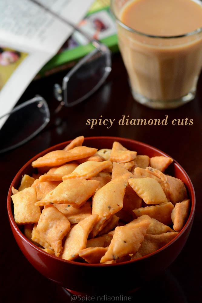 Savory Diamond Cuts