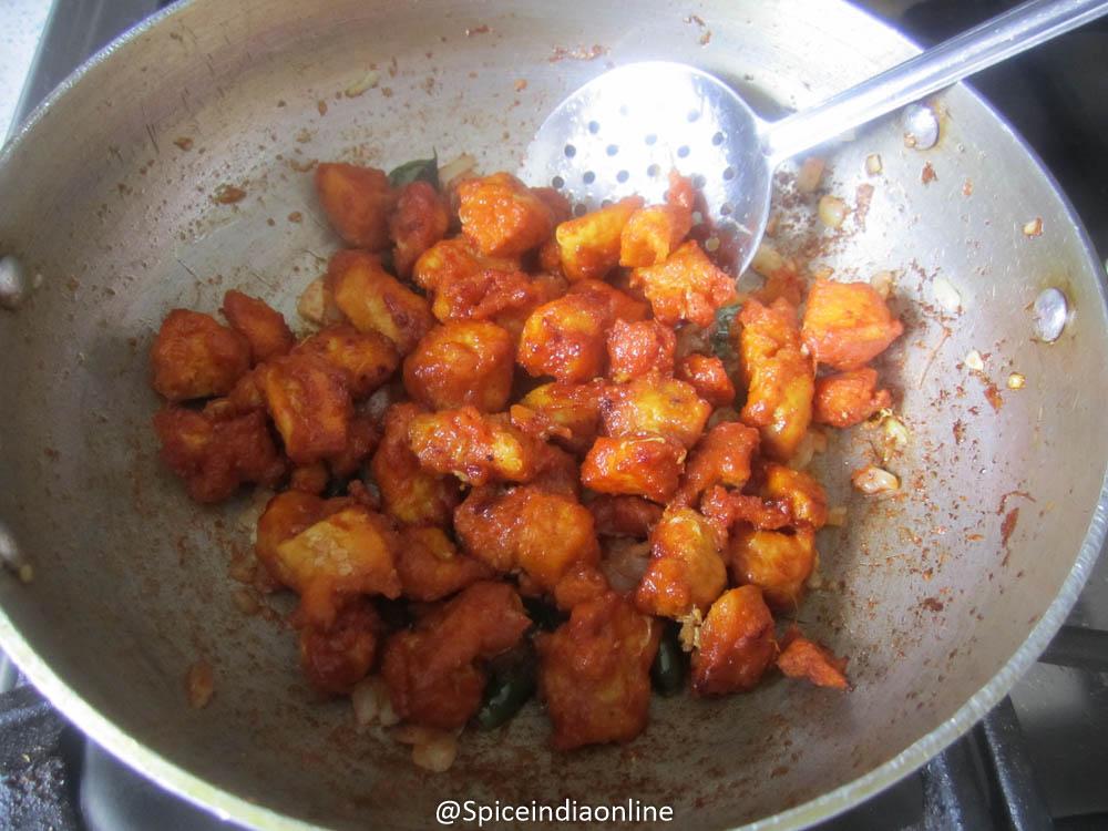 how to make hyderabadi chicken 65