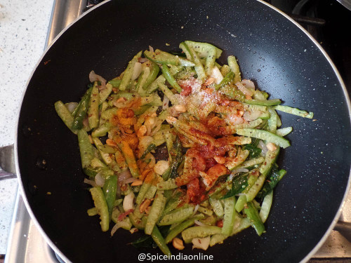 ... Vepudu ~ Ivy Gourd Peanut Stir Fry | Recipe | Gourds, Stir Fry and Ivy