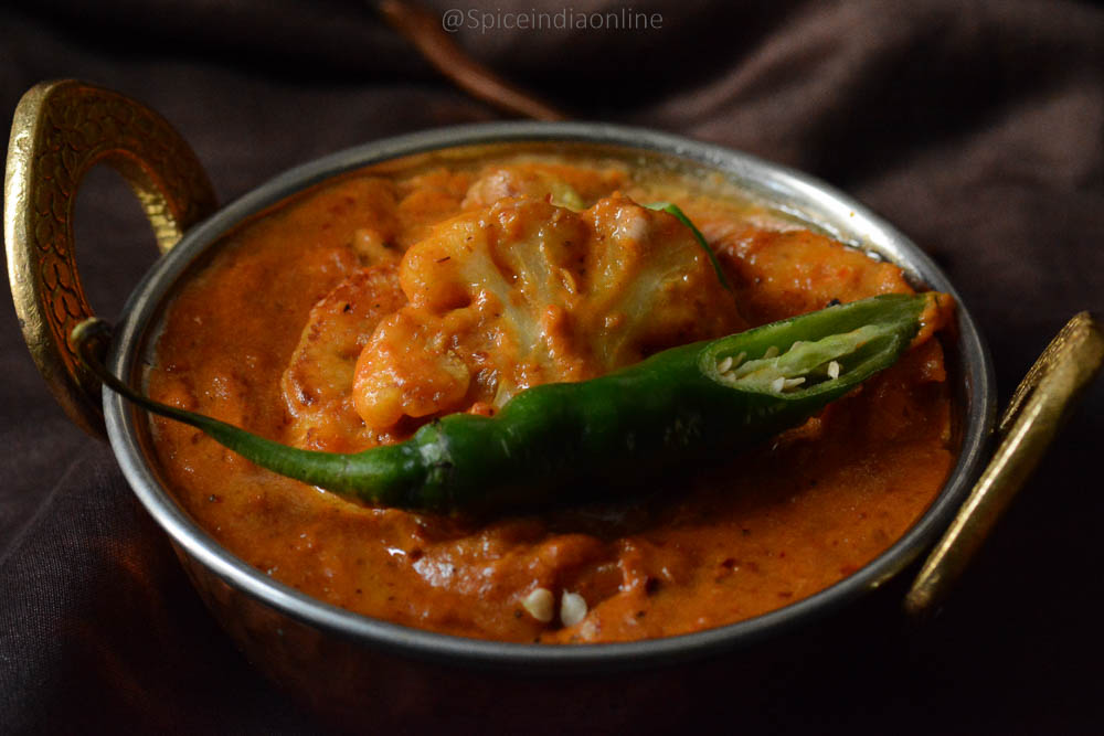 Gobi Butter Masala Recipe
