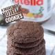 Easy 4- ingredient nutella cookies