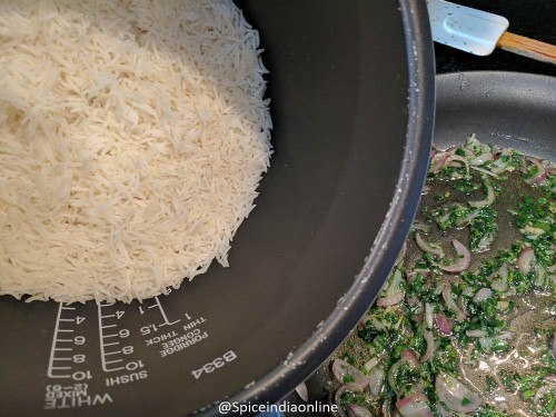 Lemon Parsley Pilaf