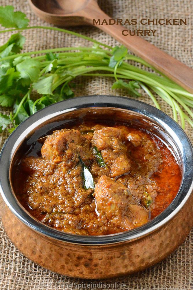 Chicken kuzhambu archives spiceindiaonline madras chicken curry kozhi kari masala south indian chicken curry ccuart Images