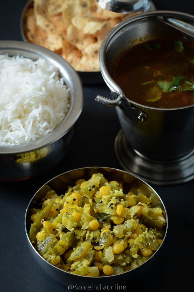 Pudalangai Poriyal Snake Gourd Recipes Spiceindiaonline