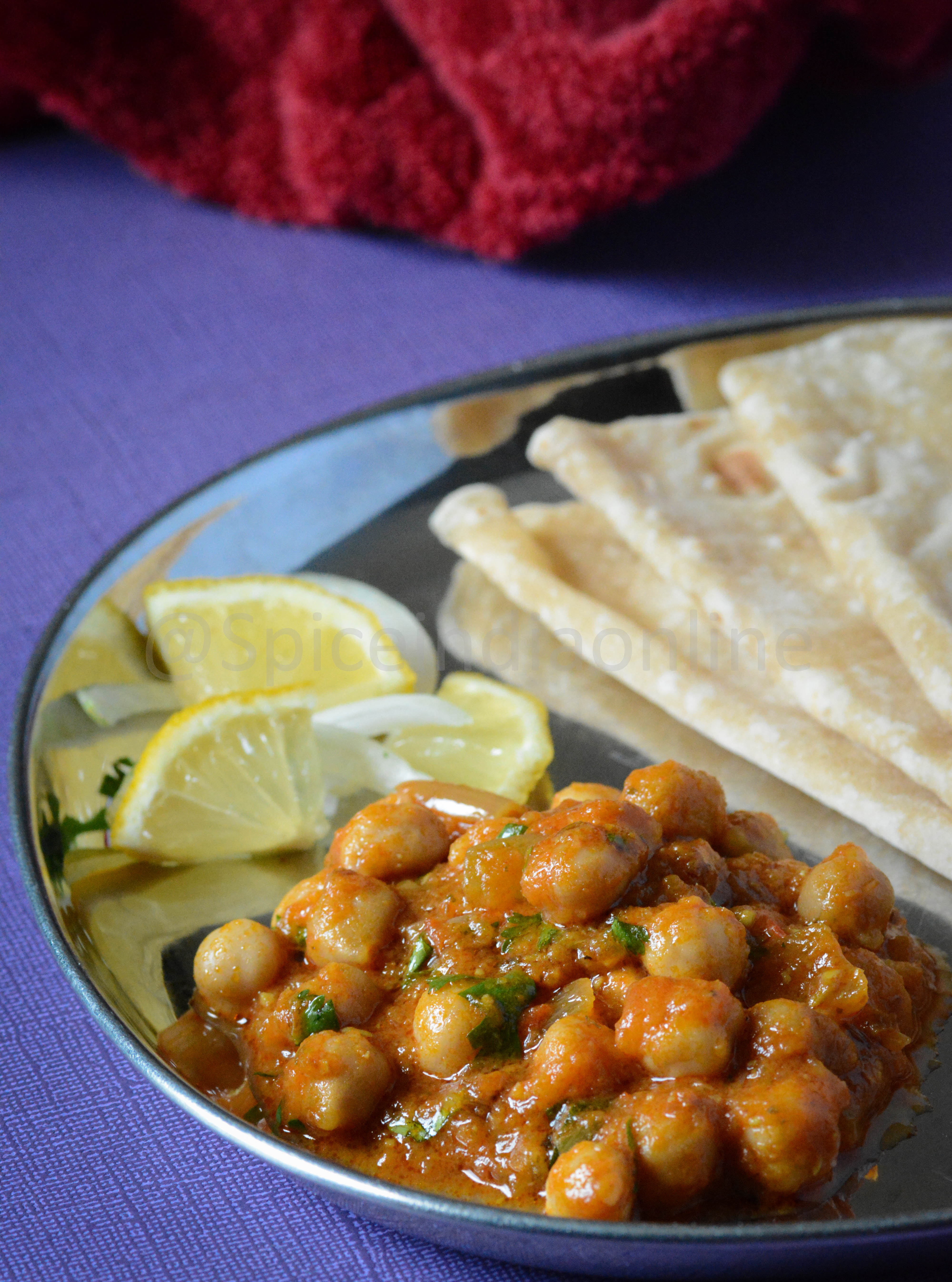 Chana Butter Masala