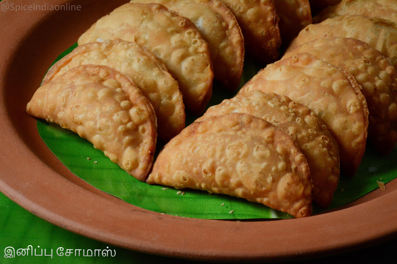 Sweet Pottukadalai Somas