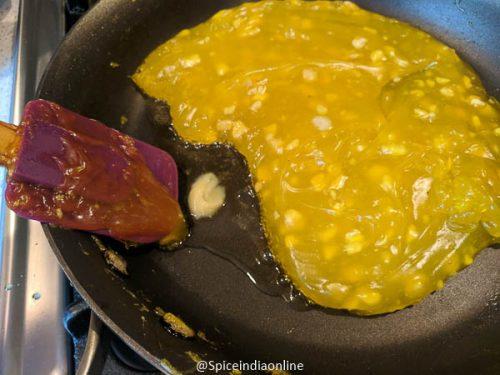 Corn Flour Halwa