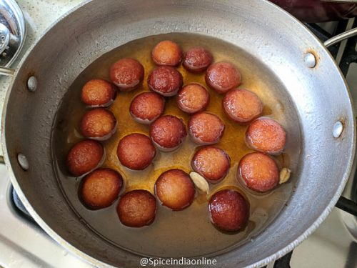 Easy Gulab Jamun with Instant Mix