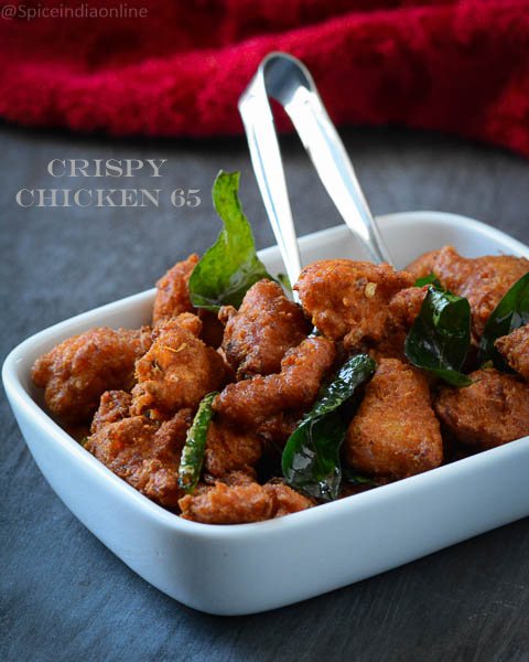 Crispy Chicken 65