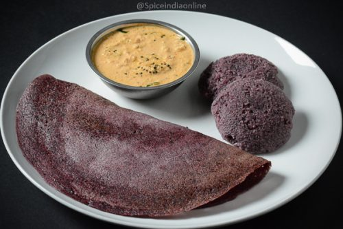 Black Rice Idli Dosai