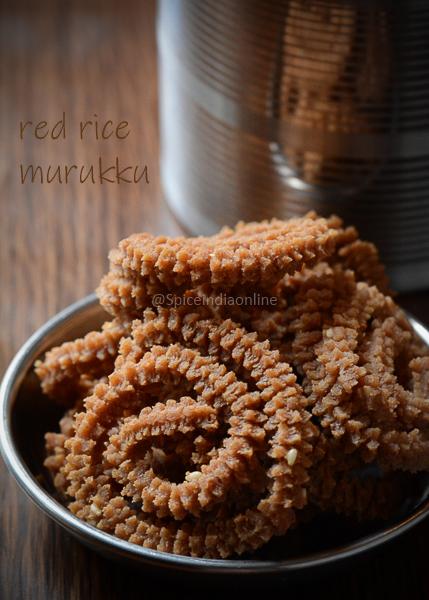 Red Rice Flour Murukku