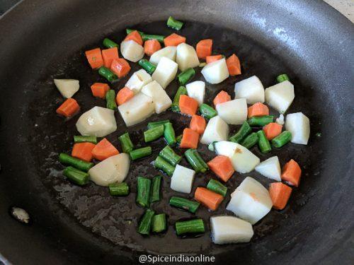 Vegetable Makhani