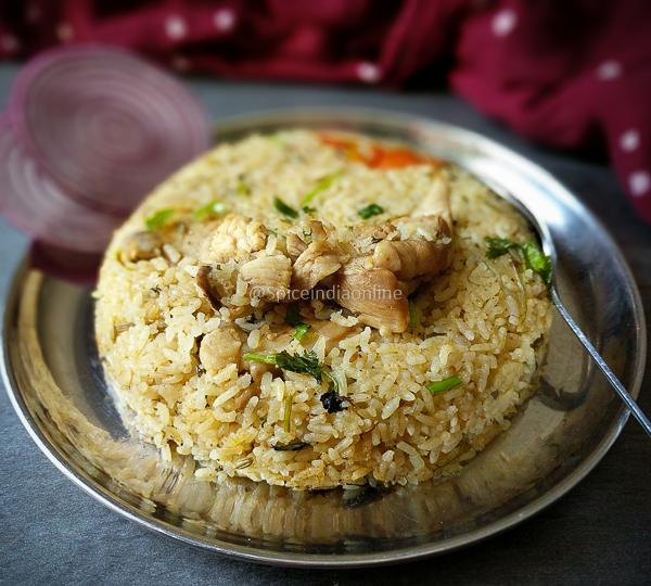 Bhai Veetu Biryani Tamil Muslim Style Chicken Biryani Dum Biryani Spiceindiaonline