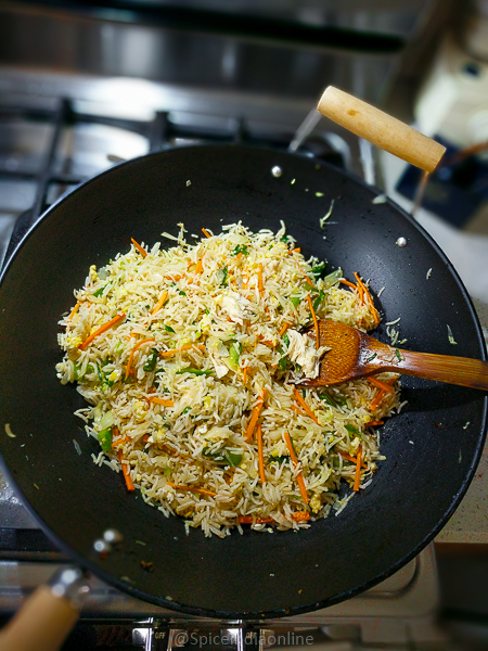 Indo Chinese Chicken Fried Rice