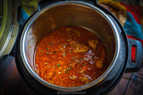 Indian Style Red Chicken Curry Instant Pot Red Chicken Curry Spiceindiaonline