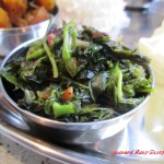 Amaranth leaves stir fry -mulai keerai poriyal 6  - Copy