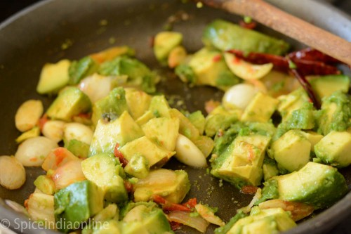 Avocado Chutney Recipe - Avocado Pachadi 6