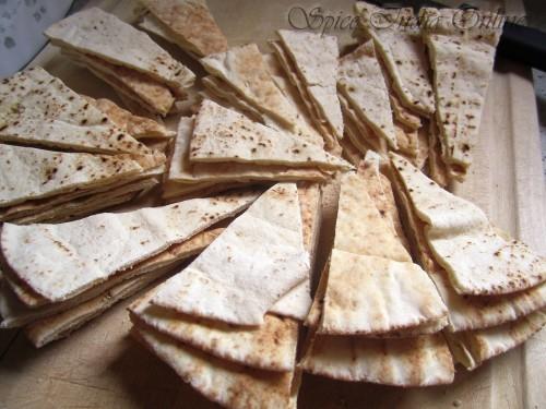 Baked pita chips 2