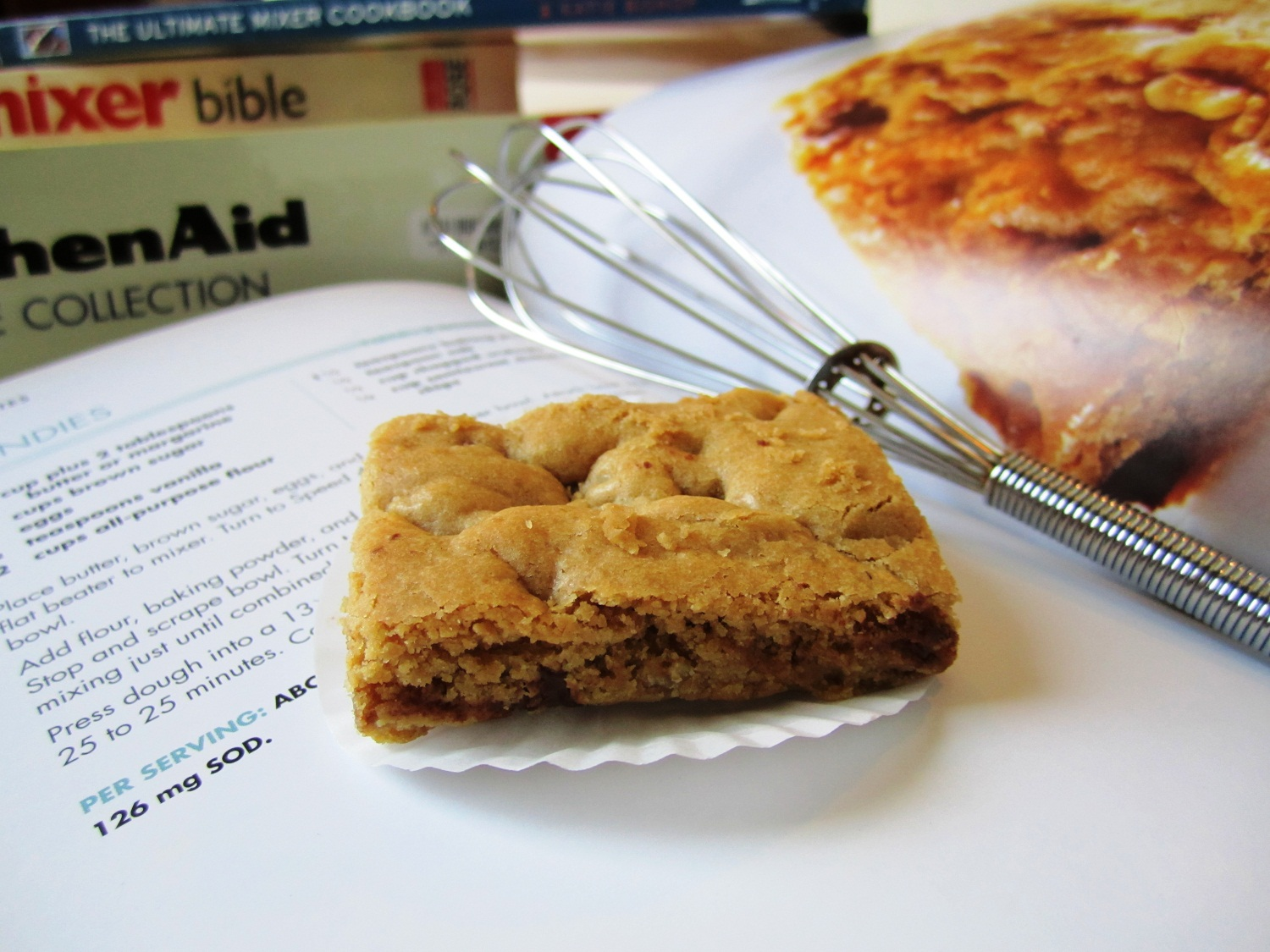 Blondie brownie Bars 9