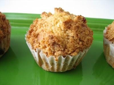 Blueberry Cashew Crumb Muffins