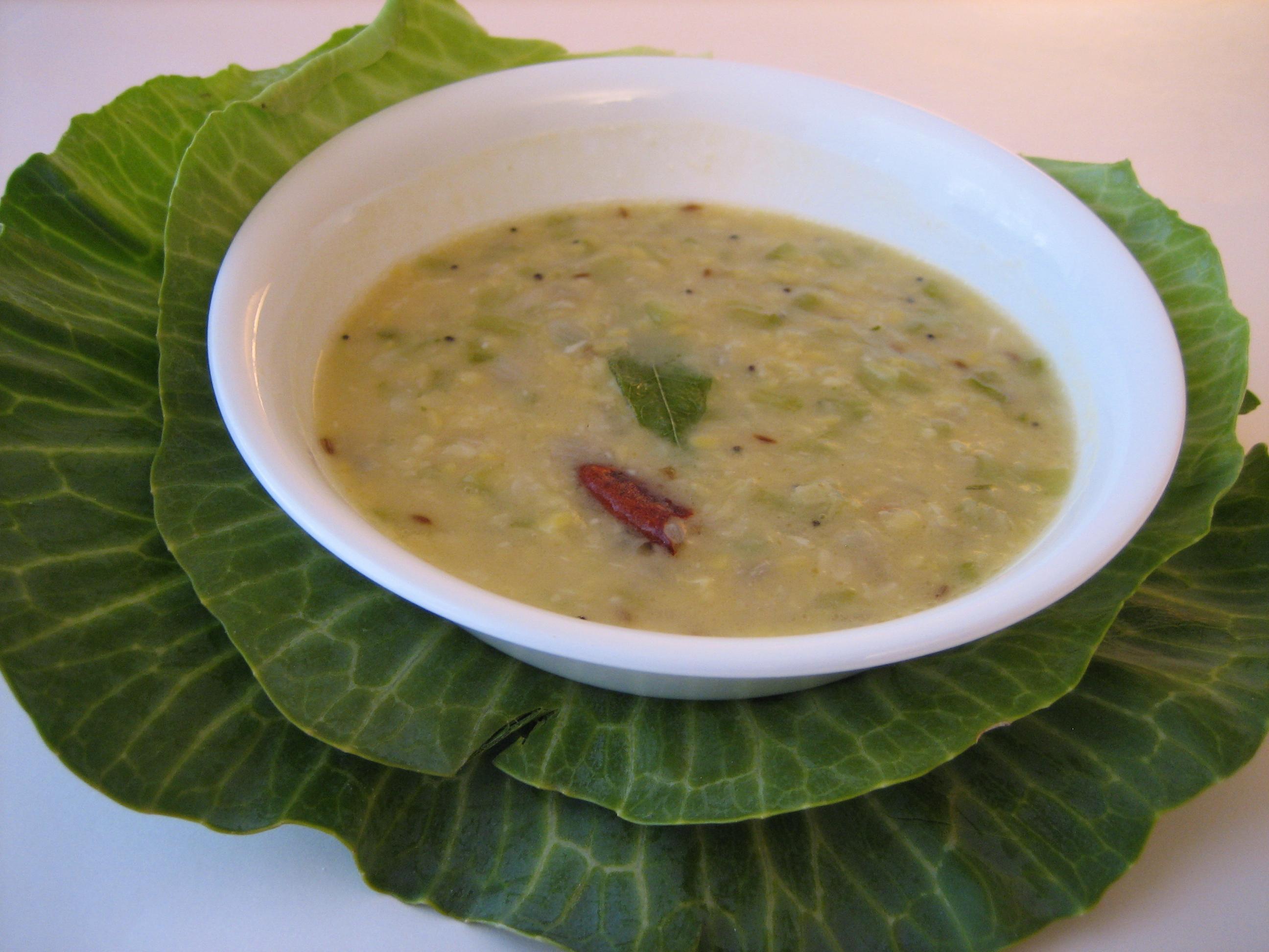 Cabbage-Kootu