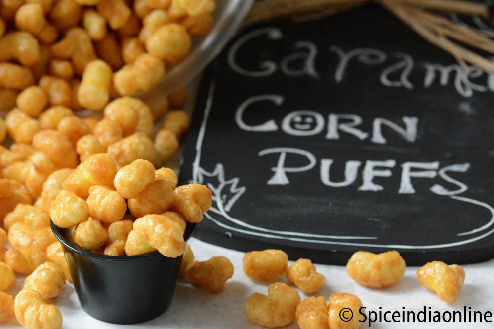 Caramel Corn Puffs 1