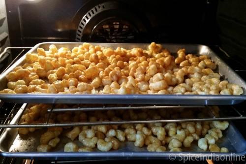 Caramel Corn Puffs 8