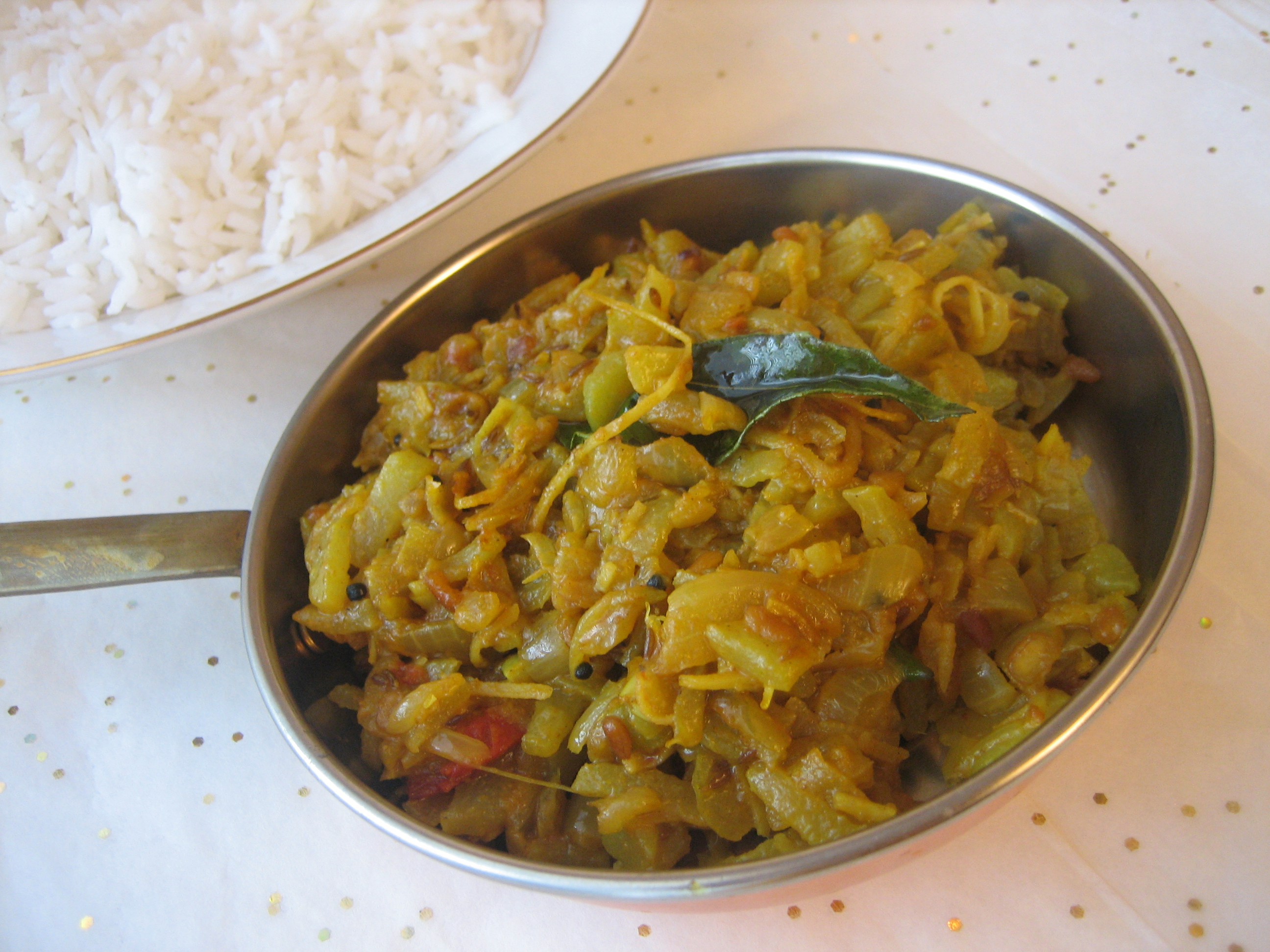 Chayote-Curry