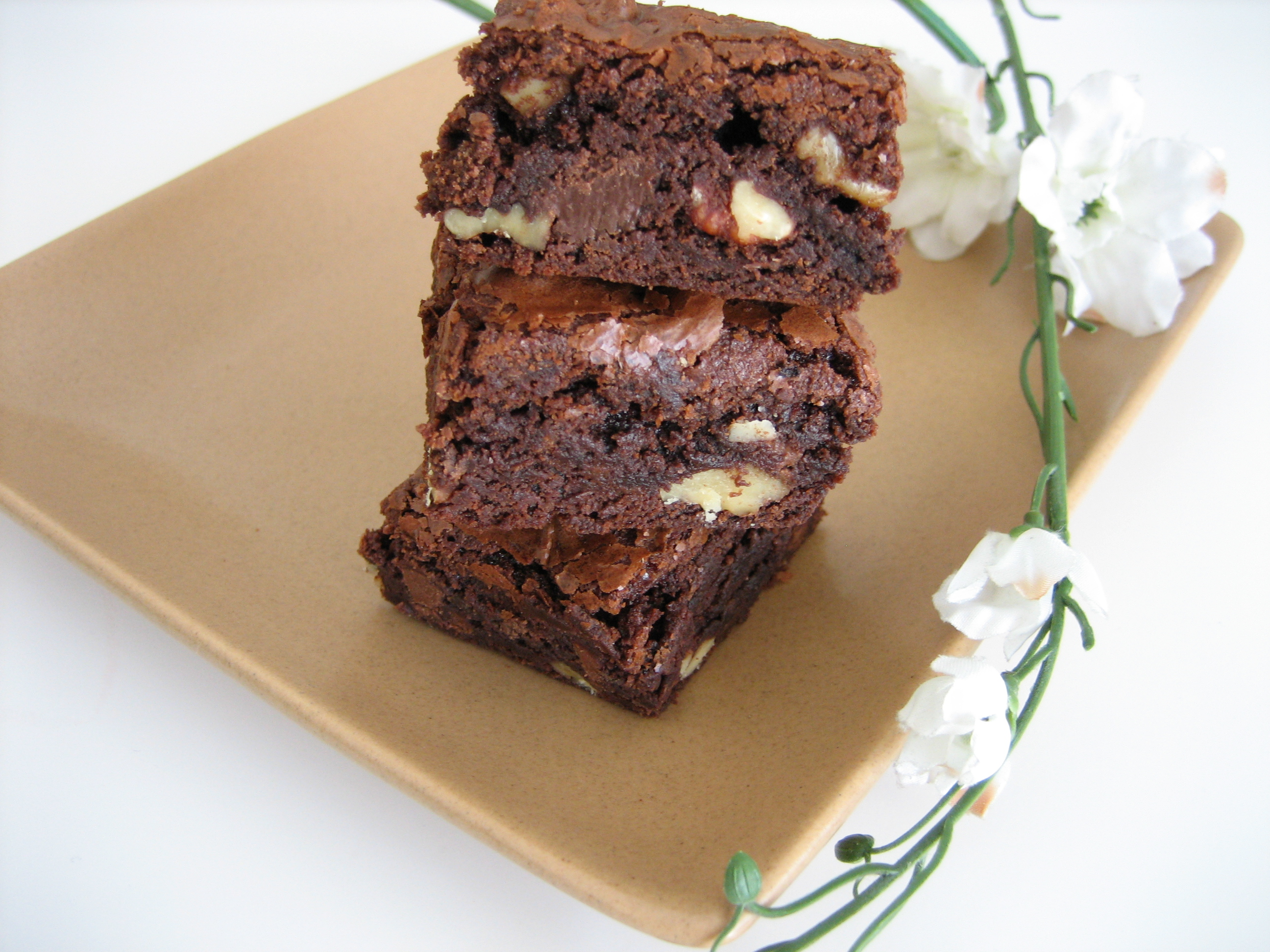 Chocolate-Halzelnut-Brownies