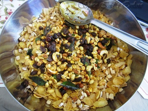 Cornflakes Mixture -healthy version 6