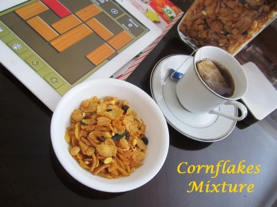 Cornflakes Mixture – Healthy Version