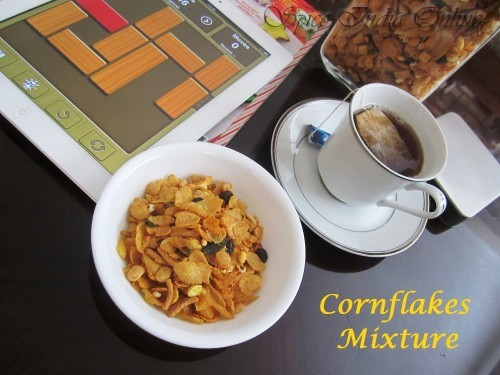 Cornflakes Mixture -healthy version 8